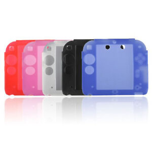 FAST-Protect-Soft-Silicone-Rubber-Gel-Skin-Case-Cover-Skin-for-Nintendo-2DS