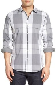 Bugatchi-Shaped-Fit-Plaid-Sport-Shirt-NWT-S-M-L