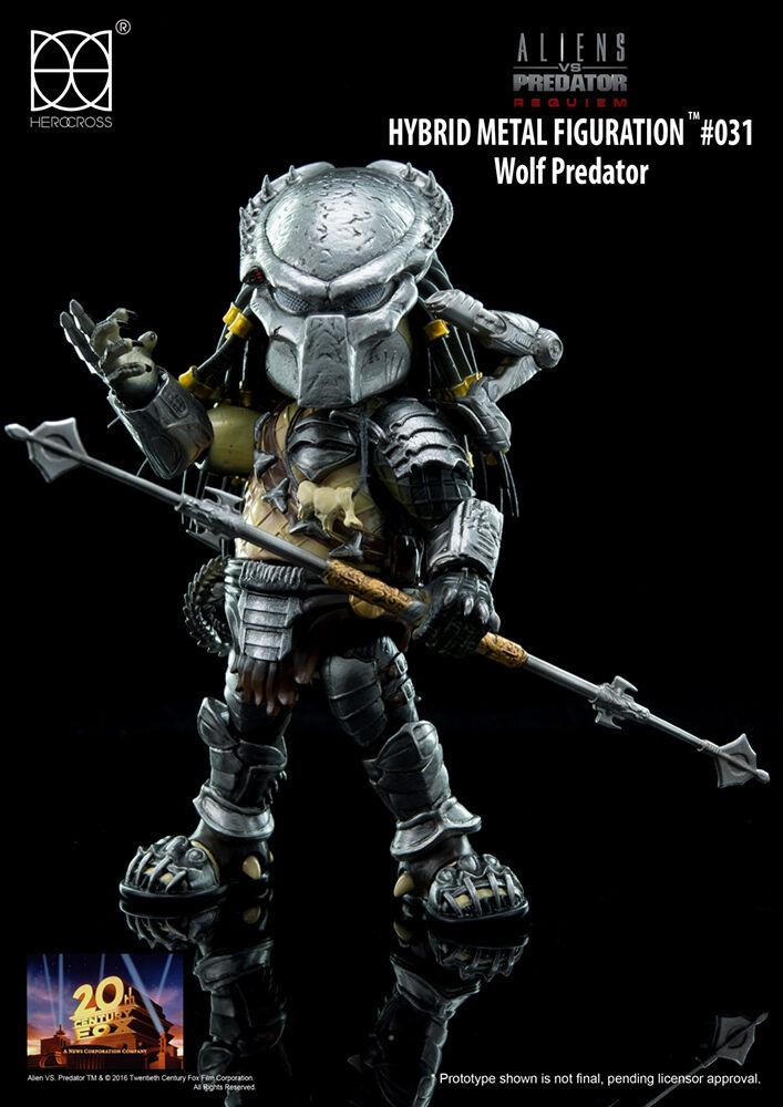 AVP Aliens VS Protator Requiem Wolf Protator Hybrid Metal Figure HEROCROSS