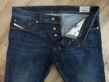 * REDUCED * Top Designer DIESEL SAFADO Regular Slim Straight Jeans W33 L30