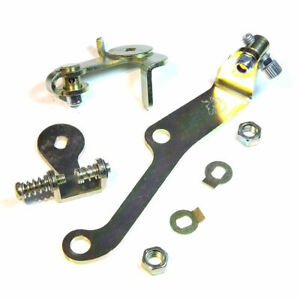 THROTTLE-LEVER-LINKAGE-KIT-with-Cable-HOLDER-Dual-WEBER-40-45-DCOE-CARBURETOR