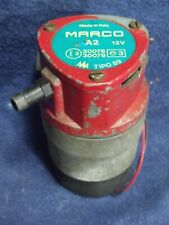 Vintage Marco Air Horn 12v Compressor Made In Italy Tested Amp Works