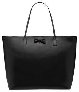 Kate-Spade-New-York-Sawyer-Street-Ani-BLACK-Tote-Handbag-Shoulder-Bag-Purse