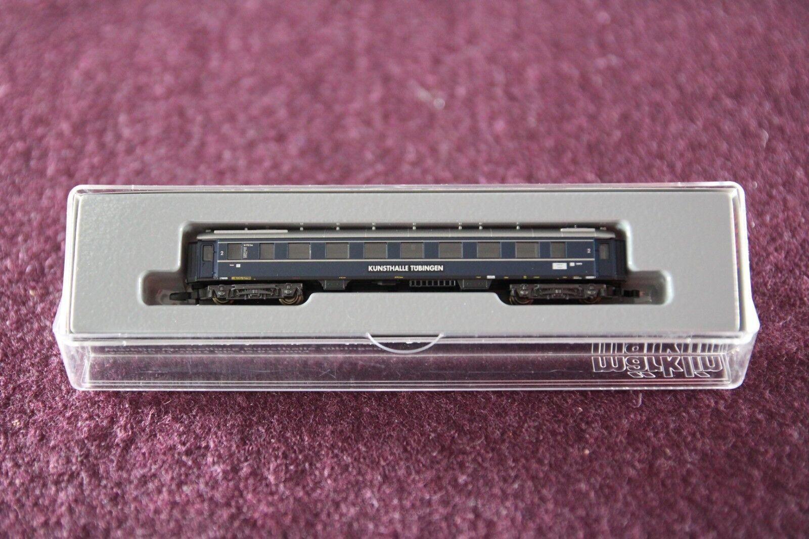 Märklin Spur Z 87399 Personenwagen Kunsthalle Tübingen DB 2. Kl. in OVP