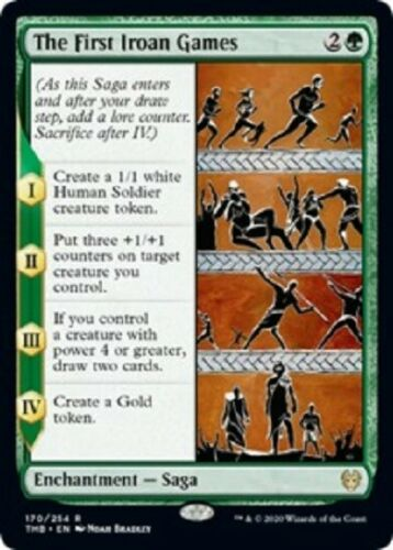 Theros Beyond Death  MTG  The First Iroan Games  X4  Magic