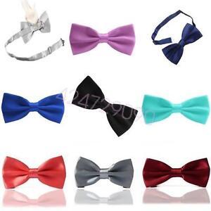Mens-Bow-Tie-Wedding-Pre-Tied-NEW-Bowtie-Necktie-Men-039-s-Adjustable-Party-YFBBa