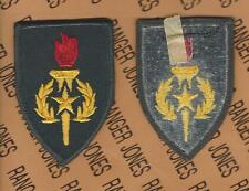US Army SMA Sergeant Major Academy dress uniform patch m/e