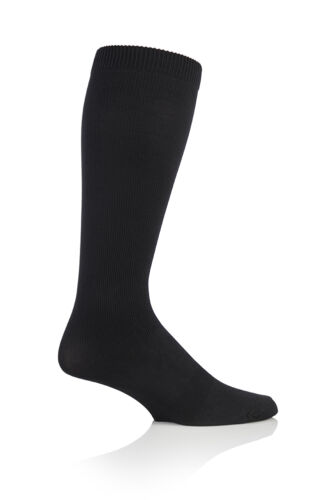 47-50 eur Black Mens sockshop BIGFOOT Flight 14-18mmHg Socks size 12-14 uk