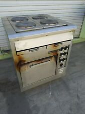 Toastmaster Electric Range Stainless Steel Convection Oven With 4 Hot Plate