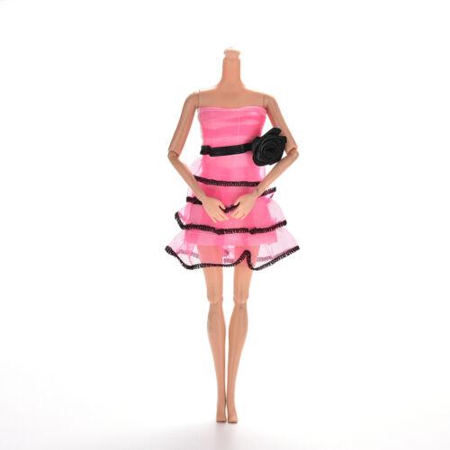Rose Pattern Bra Skirt for s Princess Dolls Widding Tutu Dresses JB