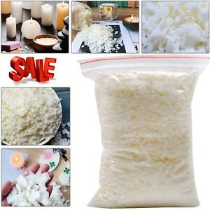 Wax-Soy-1kg-Soya-Flakes-100-Pure-Clean-Burning-Natural-Candle-Making-5kg-No-Soot