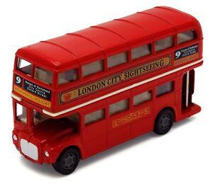 Details about London Bus Routemaster City Tourist Closed Top Diecast 1/76  Scale Diecast