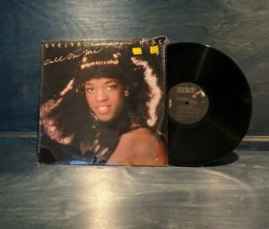Evelyn Champagne King Call On Me 1980 Vinyl Record LP Rare Shrinkwrap