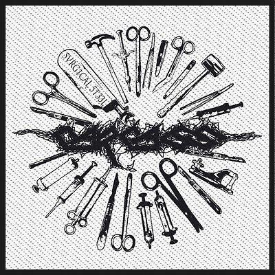 Carcass - Surgical Steel Tools Patch Aufnäher Grindcore Heavy Death Metal NEU