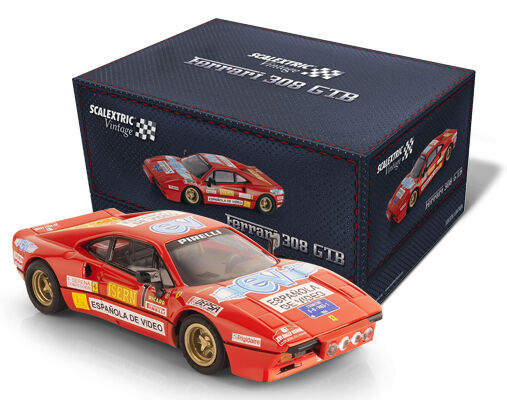 OFFER - A10215S300 FERRARI 308 VINTAGE SCALEXTRIC 1 32 new
