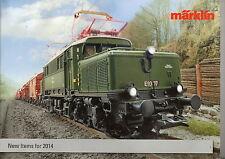 """Marklin 2014 """"New Items"""" Catalogue"""