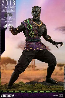 Hot Toys MMS487 Black Panther T'Chaka 1//6 Toy Fair 2018 Exclusive Ready