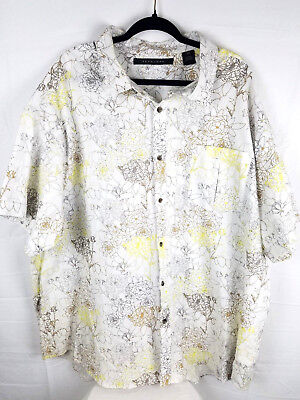Sean John Mens Printed Button Up Dress Shirt
