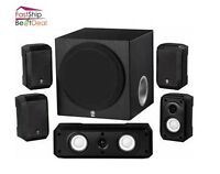 Yamaha Home Theater Speaker System Sound Surround Satellite Subwoofer Stereo