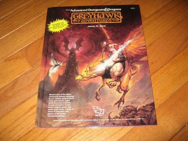 AD&D D&D 1st Ed grauhawk Adventures
