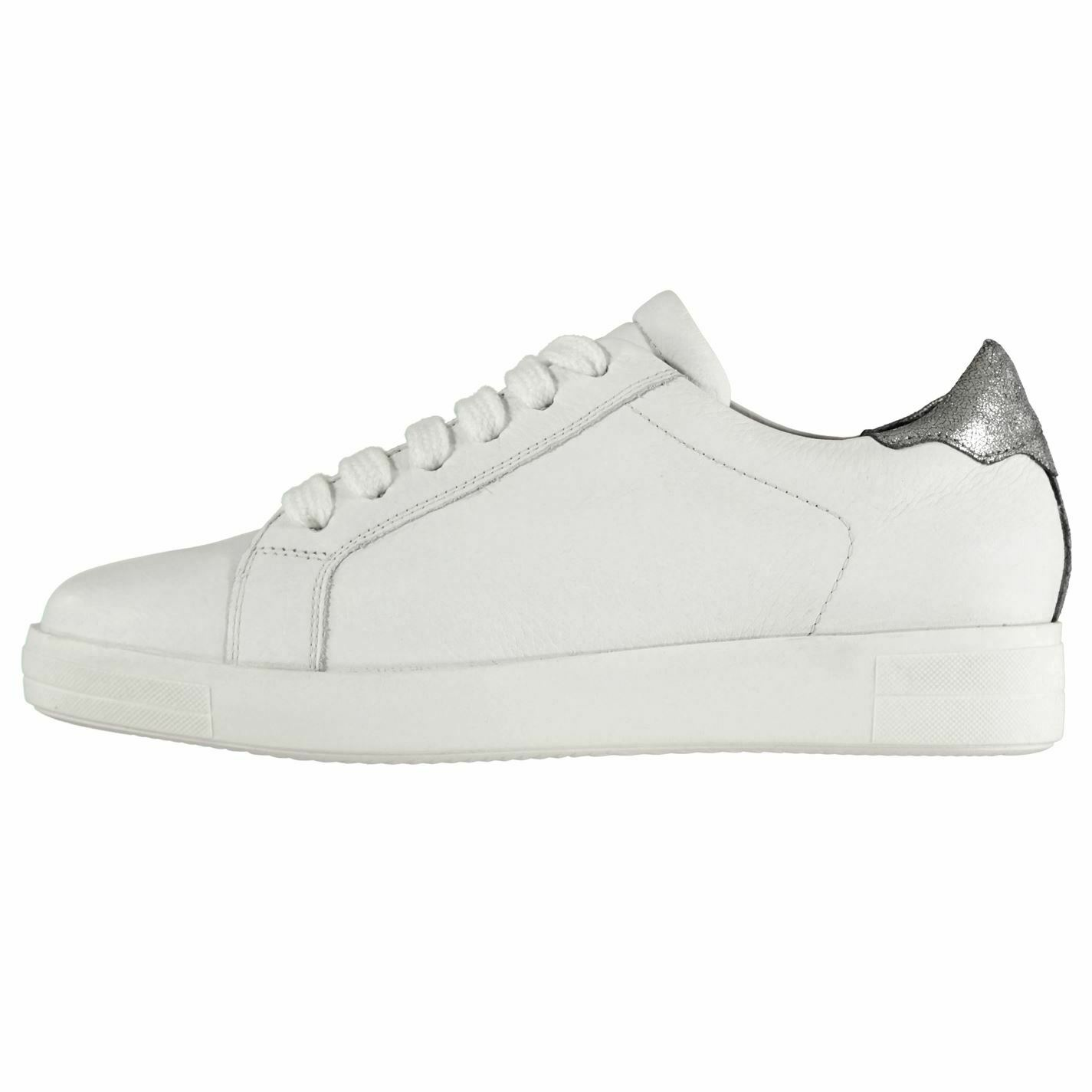 Firetrap Womens Sade Sneak Trainers Low Lace Up Comfortable Fit Everyday Tonal