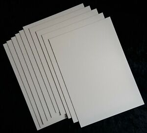 Model Building Construction 3 sheets A4 3mm Heritage Conservation Board White