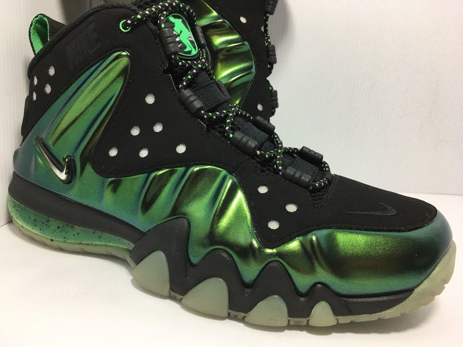 Air Nike Barkley Posite Max 'Gamma Green' Basketball Basketball Basketball shoes 555097 301 Sz 8 8fd669