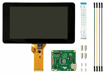 "original Raspberry Pi Display / Monitor mit Touch 7"" Zoll"