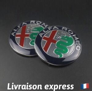 Badge Logo Emblème Métal Alfa Romeo 147,159,Gt,mito Capot Coffre