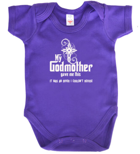 """Godchild Bodysuit /""""My Godmother gave me this it was an offer I couldn/'t refuse/"""""""