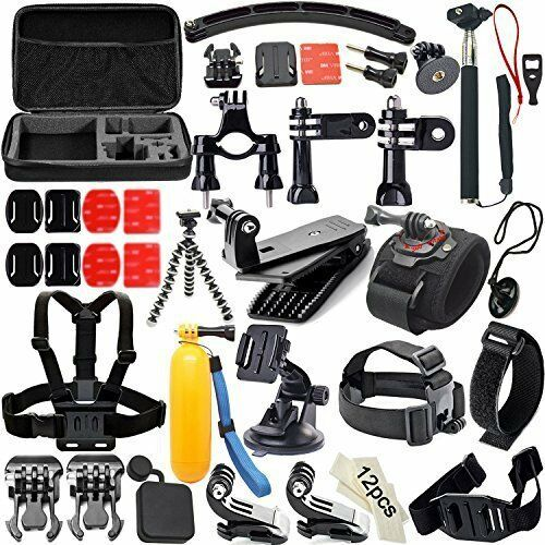Common Outdoor Sports Bundle for sj4000/sj5000 and GoPro Hero 4/3+/3/2/1 Cameras