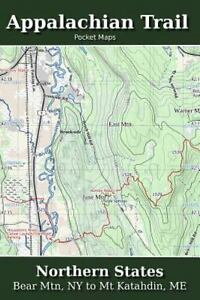 Appalachian Trail Pocket Maps: Appalachian Trail Pocket Maps - Northern  States by K. Parks (2014, Paperback)