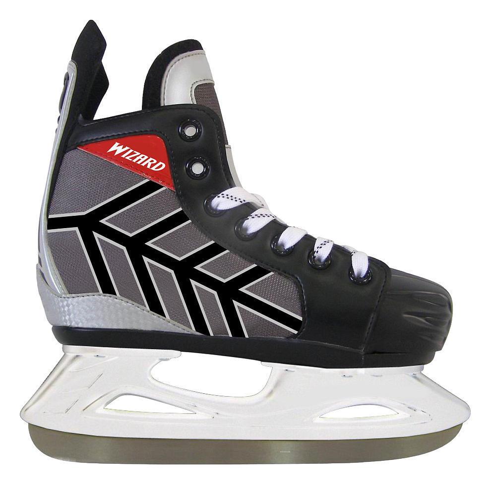 Roller Roller Roller Derby Lake Placid Wizard 400 Model Boys Größe 13-3 Adjustable Ice Skates 2b37d5