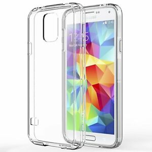 official photos 30b85 5f04e Details about Samsung Galaxy S5 Case, Slim Hybrid Scratch Resistant Case +  Screen Protector