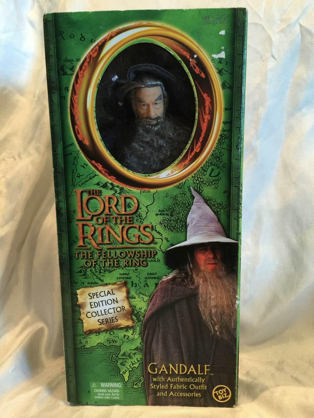 The Lord Of The Rings The Fellowship Of The Ring - Gandalf Special Edition NIB