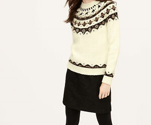 Ann Taylor LOFT Embellished Fair Isle Sweater Various Sizes NWT ...