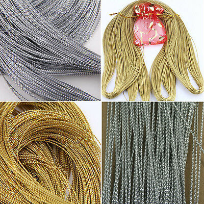Gift Wrap String 10M Xmas Sparkle Twine Gold Glitter String Wedding