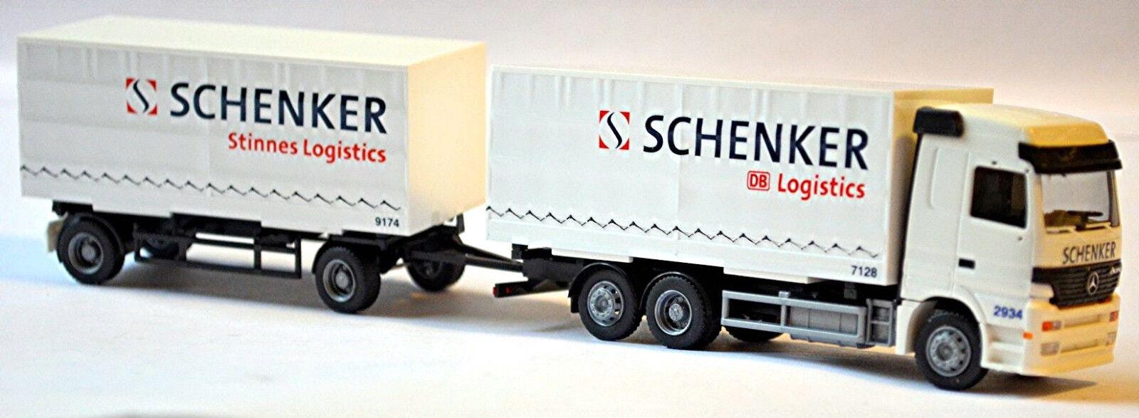 Mercedes-benz Actros LH Roadtrain Schenker Db Logistics 1 87 Rietze