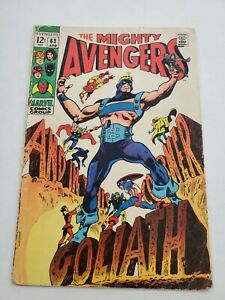 Avengers 63 Marvel Comics Goliath Vision Captain America