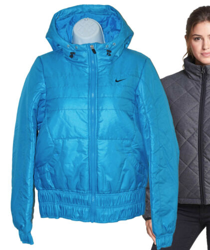 Jacket Hooded Nike Ladies Thermore Short Athletic Quilted New Womens Dept Ad S v6aznqq7g