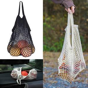 Einkaufsnetz-Netze-Tasche-Kartoffelsack-aus-Baumwollmischung-Praktisch-Neu