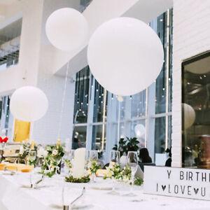 Handgemacht-Zuhause-Haushaltsversorgung-Set-Luftballons-36-Weiss-Latex-Neu