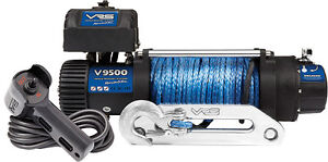 4x4-Winch-VRS-9500LBS-Synthetic-Rope-IP68-rated-waterproof-4WD-recovery