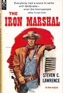 Steven-C-Lawrence-Iron-Marshal-Avon-T-399-1960-1st-thus-Western-939864