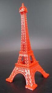 Sonstige Eiffelturm Tour Eiffel Rot Paris Frankreich,13 Cm Metall Souvenir Reise Modell