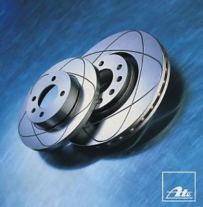 2 Stück ATE 24.0322-0122.1 Power Disc Bremsscheibe