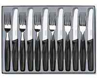 Victorinox 12 Pc Cutlery Set Kitchen Piece Stainless Steel Knife Fork Knives