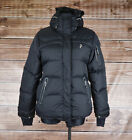 Peak Performance R&D Hooded AIR DO Women Down Jacket Coat Size S, Genuine
