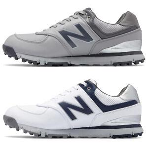 New-Balance-NBG574SL-Men-039-s-Spikeless-Microfiber-Leather-Golf-Shoe-New