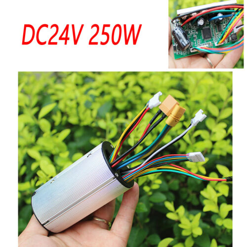 DC24V 250W Carbon Fiber Electric Scooter Brushless Controller Electric Bicycle